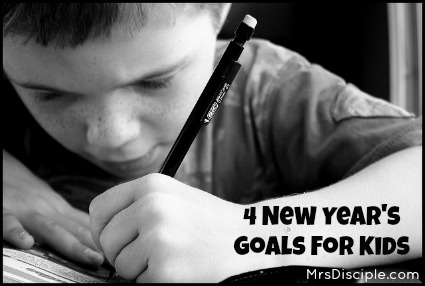 New Years Goals for Kids