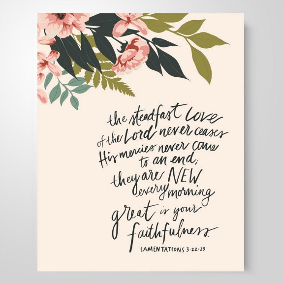 Shereadstruth.com has an incredible selection of beautiful scripture memory art.
