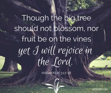 Though the big tree sould not blossom , (1)