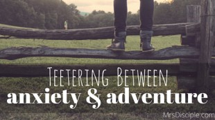 anxiety and adventure
