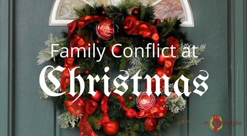 family conflict at Christmas