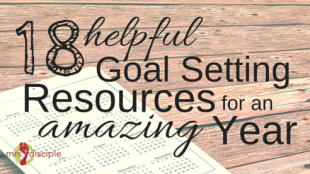 goal setting resources