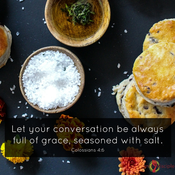Season your conversation with salt