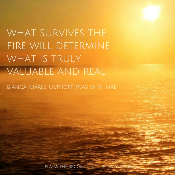 What survives the fire will determine what is truly valuable and real.