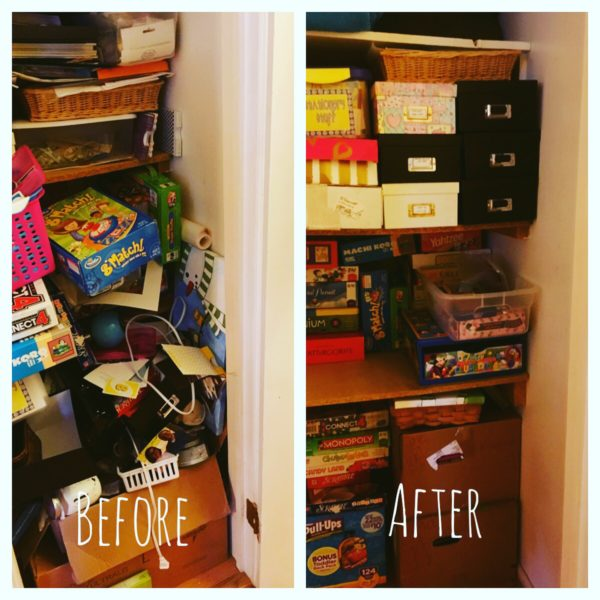 What My Cluttered Closet Taught Me About My Heart