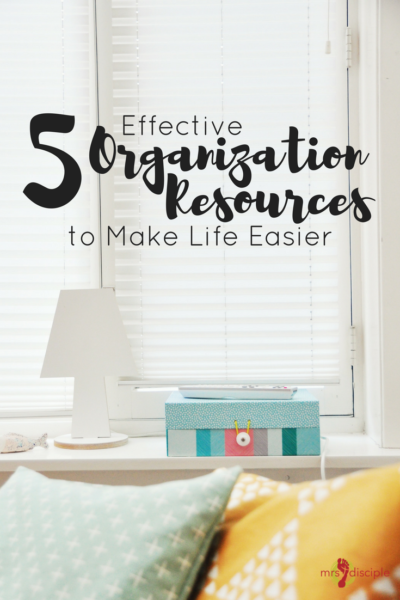 5 Effective Organization Resources to Make Life Easier