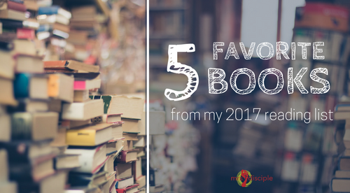 5 Favorite Books from My 2017 Reading List